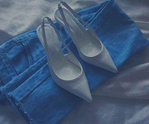 aesthetic, blue, and shoes image