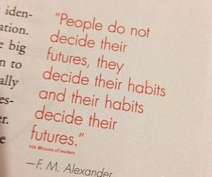 future and habits image