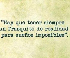frases, sueno, and imposible image