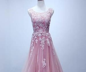 custom bridesmaid dresses, prom dresses long, and pink prom dresses image