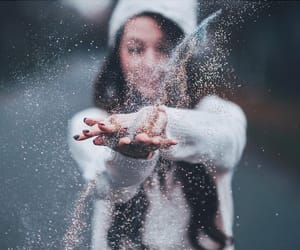 girl, photography, and winter image