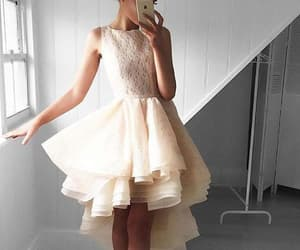 high low prom dresses, lace homecoming dresses, and homecoming dresses short image