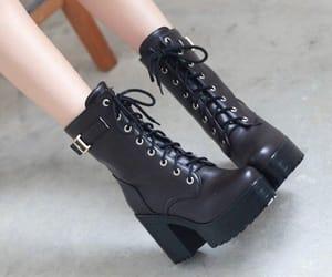 boots, shoes, and Harajuku image