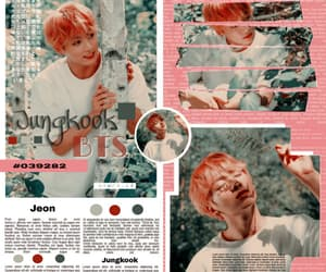 template, kook, and bts image
