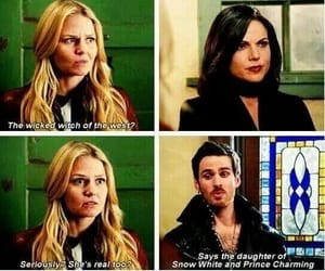 funny, lol, and once upon a time image