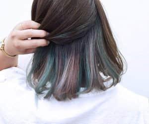 cabello corto, haircut, and different color image