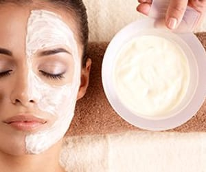 facial treatment deals, facial treatment package, and facial package deals image