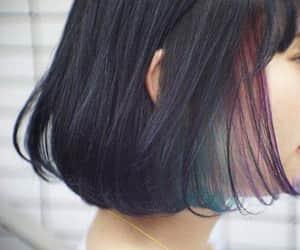 haircut, kawaii, and cabello corto image