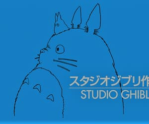 anime, Castle in the Sky, and totoro image