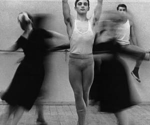 ballet, b&w, and dance image