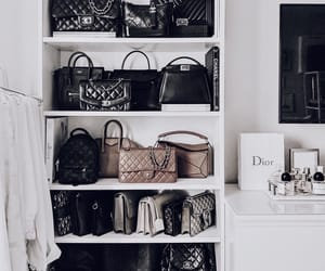 closet, purses, and handbags image