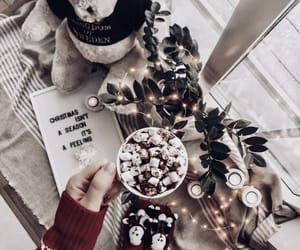 christmas and hot chocolate image