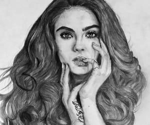actress, art, and artwork image