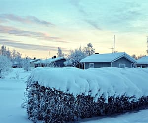 beautiful, finland, and Houses image