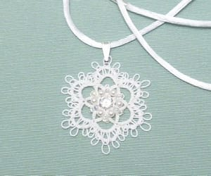 bridal jewelry, lace, and wedding image