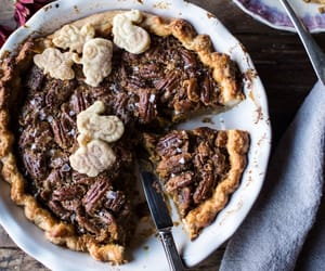 pecan, bourbon, and pie image