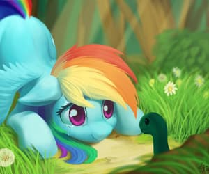 MLP, turtle, and my little pony image