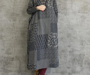 etsy, long sleeve, and winter dress image
