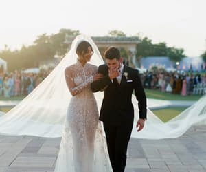 wedding, nick jonas, and priyanka chopra image