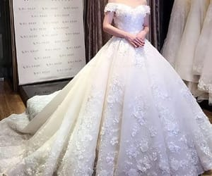 bride, fairytale, and fashion image
