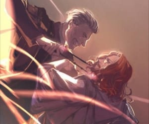 albus dumbledore, fight, and harry potter image