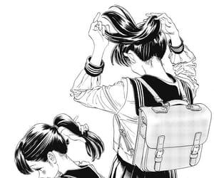 girl, school, and illustration image