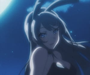 anime and bunny girl senpai image
