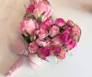 pink and flower image