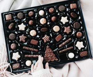 chocolate, food, and christmas image