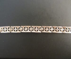 chain link, etsy, and sterling silver image