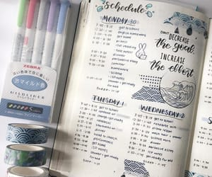 journaling, university, and planner image