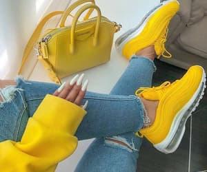 yellow, nails, and bag image