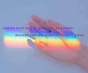 arco iris, colores, and iris image
