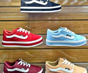 colors, sneakers, and vans image