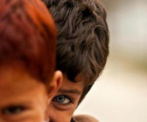 blue, eye, and smile image