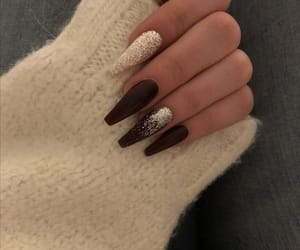 nails, girl, and goals image