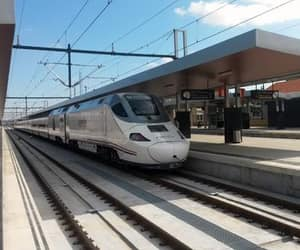 railway, station, and trainstation image