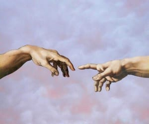 art, hands, and wallpaper image