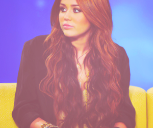 miley cyrus, pretty, and hair image