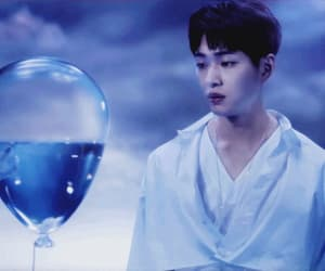 blue, gif, and k-pop image