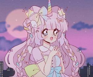 90's, anime, and anime girl image