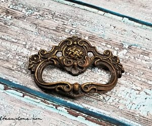 etsy, antiqued gold, and decorative drawer image