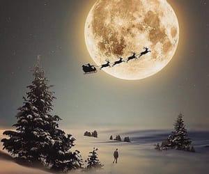 christmas, santa, and snow image