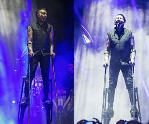concert, goals, and Marilyn Manson image