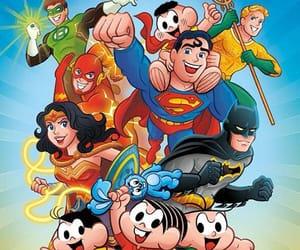 justice league, turma da monica, and dc comics image
