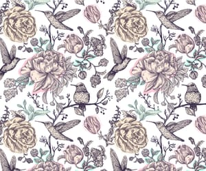 blossom, fabric, and pattern image