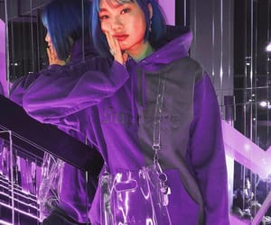 outfit and purple image