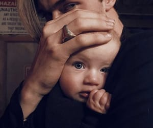 baby and lucky blue smith image