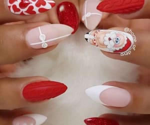 nails, ongle, and père image