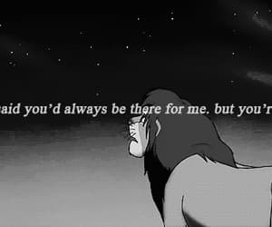 alone, the lion king, and where are you image